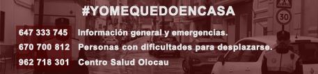 Banner Corona Virus Ayuntamiento de Olocau